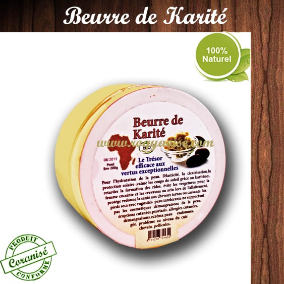 Beurre de karit roqya oise - Beurre de karite utilisation ...